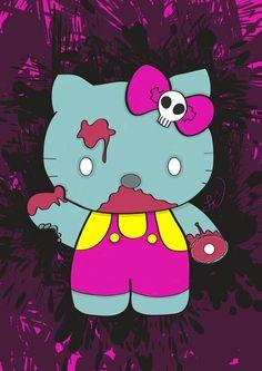 DeviantArt  More Like Zombie Hello Kitty by Steve-Nice 72680f9149e2