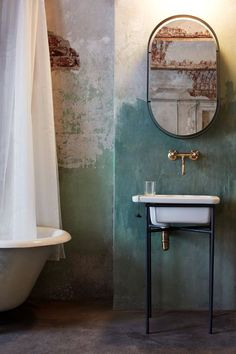 Shabby Chic Bathrooms 479070479109807441 - Rooftop Laundry – Picture gallery Source by jdmartial Industrial Interior Design, Industrial Interiors, Bathroom Interior Design, Interior Styling, Rustic Industrial, Bathroom Designs, Bathroom Ideas, Contemporary Interior, Bathroom Trends