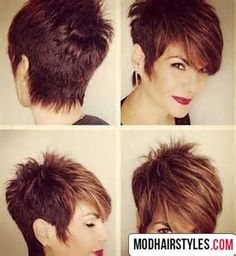 Image result for Platinum Razor Cut Pixie Hairstyles