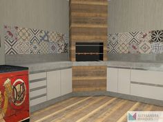 Casa Real, Kitchen Cabinets, Pallet, Home Decor, Nova, Masonry Bbq, Gourmet Cooking, Concrete Kitchen, Future House