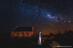 New Zealand Tekapo Starry Night Sky Pre-Wedding | Wellington Wedding Photographer | Kent Yu Photography