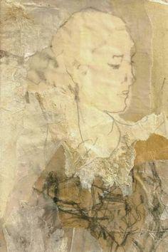 """Saatchi Art Artist Ute Rathmann; Collage, """"Hommage à Rubens III"""" #art"""