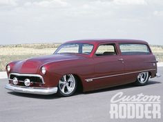 Visit The MACHINE Shop Café... ❤ Best of Hot Rod @ MACHINE ❤ (1949 Ford 2-door Station Wagon)