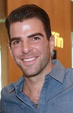 Zachary Quinto, my love for you will never grow old... <3