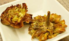 """Carciofi alla giudia, literally """"Jewish-style artichokes"""", is among the best-known dishes of Roman Jewish cuisine. The recipe is essentially a deep-fried artichoke, and originated in the Jewish community of Rome."""