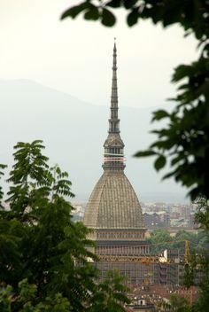 Torino, Villa della Regina, Blick auf die Mole Antonelliana (view of the Mole Antonelliana) | da HEN-Magonza