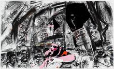 """Erik van Lieshout's """"I Am In Heaven"""" - Features Art Fair, Anton, Van, Gallery, Drawings, Illustration, Painting, Image, Apple"""