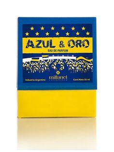 Eau de Parfum Azul & Oro