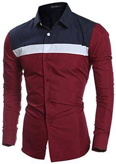 jeansian Men's Fashion Hit Color Stitching Long-Sleeved S... https://www.amazon.com/dp/B01LY42Z2Z/ref=cm_sw_r_pi_dp_x_gx09xb5XDXXA6