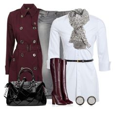 """""""Unbenannt #143"""" by wishlist123 ❤ liked on Polyvore featuring Burberry, Benetton, Vionnet, Coach and Rose & Rose"""