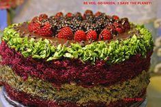Vegan Chocolate Meeting cake with by VEGANLOTUS on Etsy, $60.00