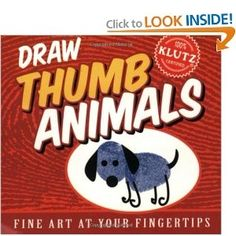Draw Thumb Animals... my son LOVES this!!!