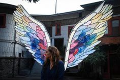 The Global Angel Wings Project created in 2012 to remind humanity that we are the Angels of this Earth | Colette Miller