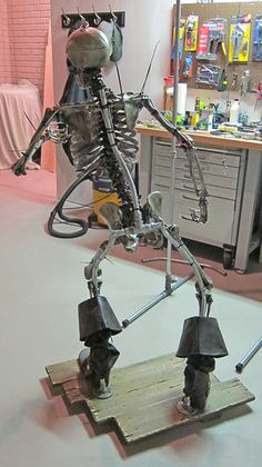 How to pose a skelton