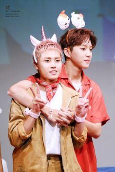 Seungmin and Jaehyun