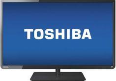 """Toshiba - 32"""" Class (31-1/2"""" Diag.) - LED - 720p - 120Hz - HDTV. On CLEARANCE NOW."""