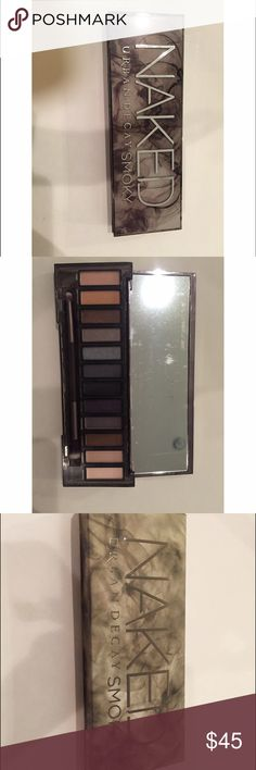 Urban Decay Naked Smoky Palette Brand new never used! Still in original packaging. Includes eye shadow brush Urban Decay Other