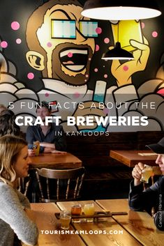 Inspired names, secret sourdough, and meaningful murals are just some of the fun facts hiding behind the scenes in these five local craft breweries. Say cheers to reopened tasting rooms and discover five facts about these Kamloops breweries. Cider Making, Tasting Room, Unique Recipes, Craft Beer, Brewery, Murals, Cheers, Behind The Scenes, Fun Facts