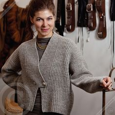 Ravelry: Short Jacket pattern by Marianne Isager