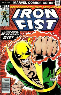 Iron Fist 9 cover by John Byrne