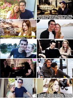 Dylan O´Brien and Britt Robertson - First impression of Britt? That she was the coolest chick I ever met and she's the most laid back, funny little firecracker.