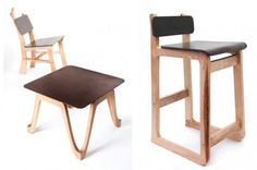 "Re-Worked's ""Çurface"" furniture, a composite material made from coffee grounds. Awesome."