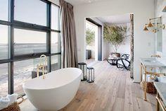 #Bathroom with an ocean view!