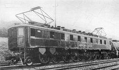 "PRR FF1 ""Big Liz' Electric locomotive Built 1917 in PRR Altoona Shops in assoc. with Westinghouse. (AAR) 1-C+C-1. 4600 H.P."