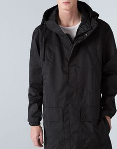 Bershka Slovenia -XMAS Oversize coat with detachable lining Oversized Coat d1912dd83