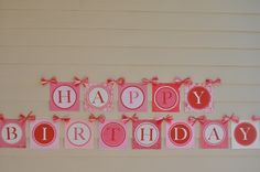 So Sweet Cupcake PRINTABLE Party DIY Birthday Banner from Love The Day. $15.00, via Etsy.