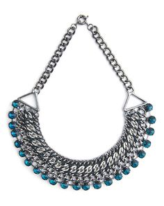 Blue Flame Necklace by Stylemint.com, $36