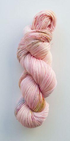 100% Merino hand dyed yarn, speckled yarn, indie yarn, merino wool, pastel yarn