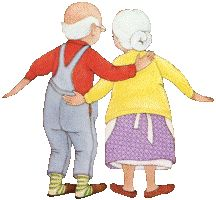 BB To be seperated Gif Animé, Animated Gif, Funny Videos, Vieux Couples, Photo Humour, Happy Grandparents Day, Growing Old Together, Animation, Grandma And Grandpa