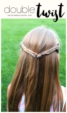 Or fake fishtails with this very twisty tutorial. | 17 Cute And Easy Hairstyles For Kids