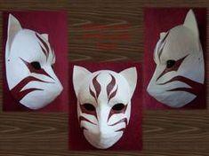 ANBU Itachi Weasel Mask by AgentShoemaker on DeviantArt Mascara Anbu, Itachi, Kitsune Maske, Anbu Mask, Japanese Fox Mask, Ninja Mask, Shadow Wolf, Arte Ninja, Wolf Mask