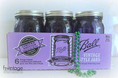 Quart Jar, Vintage Colors, Soy Candles, Mason Jars, Handmade, Hand Made, Mason Jar, Glass Jars, Handarbeit