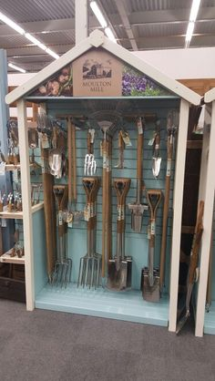 Moulton Mill Garden Centre Tool Stand