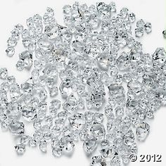 Clear Ice for bottom of floating candle vases - $5.25/225, one set
