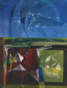 Max Ernst (German, 1891-1976), Don Juan et Faustroll, 1951. Oil on canvas, 142.50 x 109.80 cm