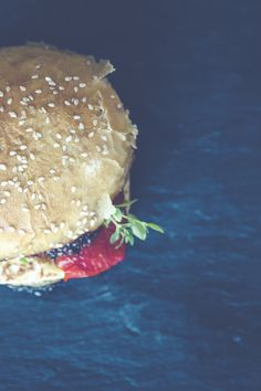 Brown Hamburger Bun