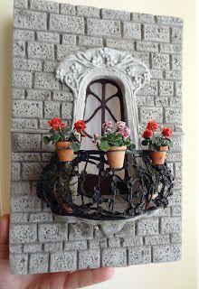 Miniature balconies