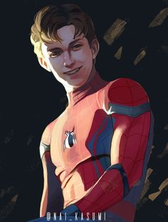 GEEKY apparel by Maikonas - picture for you Marvel Fan, Marvel Avengers, Tom Holland, Spiderman Kunst, Parker Spiderman, Super Anime, Marvel Drawings, Marvel Wallpaper, Spideypool