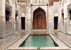 Sofitel Palais Jamai Fes - Fez Morrocco-what an amazing courtyard