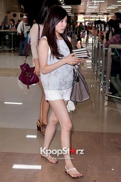 [130620] Tiffany at Gimpo Airport Arrival from Japan