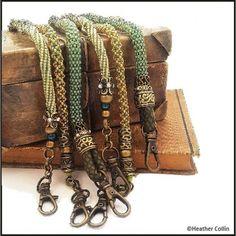 beading tutorials Beading Stitch Tutorial for Tubular Ropes Beads Jewelry, Beaded Jewelry Patterns, Beading Patterns, Beaded Bracelets, Rope Bracelets, Beaded Jewellery, Necklaces, Rope Necklace, Bead Jewelry