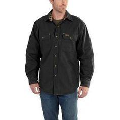 16685371f9 100590 Carhartt Men s Weathered Canvas Shirt Jac Canvas Shirts