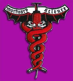Mortuary science patch