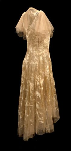 Evening gown by Madeleine Vionnet, Model 4094, August 1929