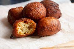 Krakro - spicy plantain balls. Ghanaian snack. #africanfood