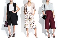 Trends to Try // Culottes - The Chriselle Factor